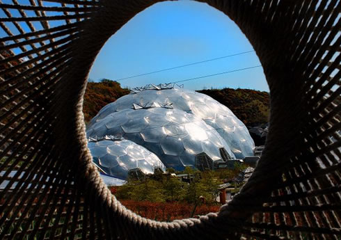 The Eden Project Bio Domes